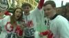 FAZĂ AMUZANTĂ! Ce au făcut trei necunoscuţi în timpul paradei de la Manchester