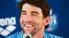 Legendarul înotător Michael Phelps s-a reprofilat şi a devenit pentru o zi atlet