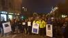 Zeci de persoane au protestat faţă de uciderea ursului rătăcit la Sibiu (VIDEO)
