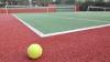 Un teren de tenis modern, construit în satul Zagarancea, Ungheni: Vom lansa tenis de câmp în toată ţara