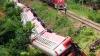 Accident feroviar ÎNGROZITOR! Un tren în care se aflau 1.300 de oameni A DERAIAT