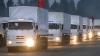 Încă un convoi umanitar din Rusia se îndreaptă spre Doneţk şi Lugansk