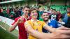 Premieră pentru suporterii naţionalei. Tricolorii au organizat un antrenament deschis pentru fani (FOTO)