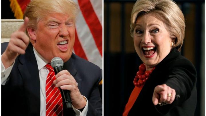 DUETUL DE MILIOANE! Hillary Clinton şi Donald Trump, IPOSTAZĂ INCREDIBILĂ! (VIDEO VIRAL)