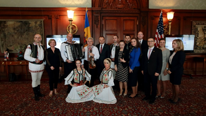 25 de ani de Independență a Republicii Moldova, sărbătoriți la Librăria Congresului SUA (FOTO)