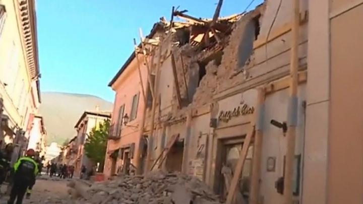 Anunțul Protecției Civile: Ce a declanșat ultimul cutremur din Italia