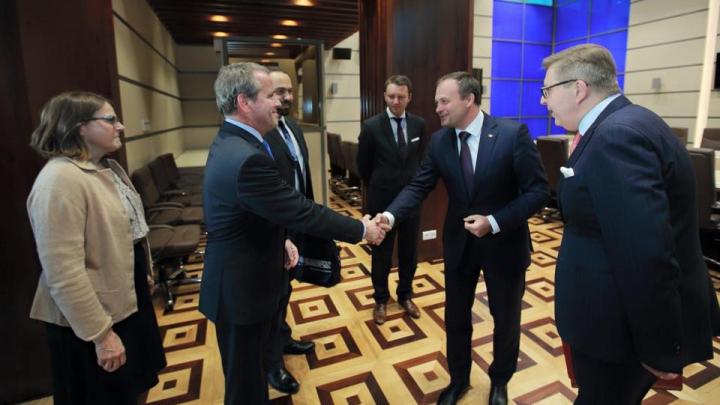 Andrian Candu: Voi asigura o bună colaborare cu noul președinte, indiferent de rezultatul votului