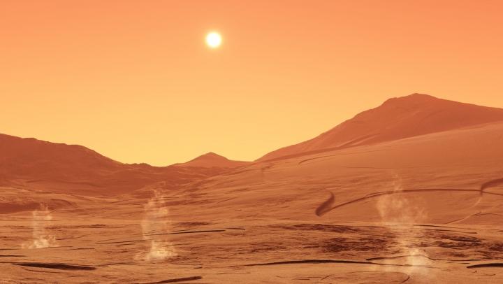 NASA a creat un meniu deosebit! Prima cină cu ingrediente de pe Marte