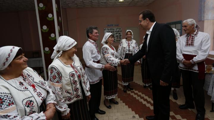 Marian Lupu a participat la Festivalul dedicat Zilei Persoanelor în Etate (FOTO)