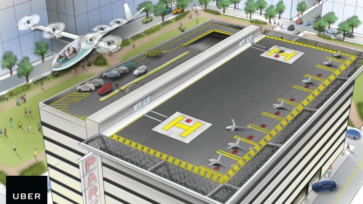 Uber lucrează la un proiect de mașină zburătoare