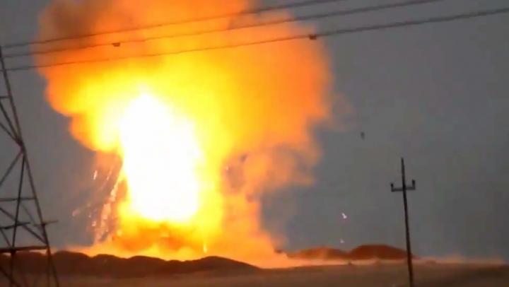MOMENTUL când o rachetă antitanc rusească distruge un tanc american (VIDEO)