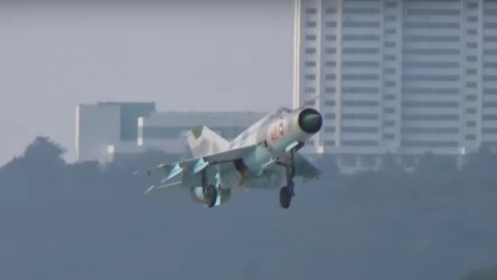 Paradă aeriană din Coreea de Nord, la un pas de tragedie. Momentul care a înspăimântat spectatorii (VIDEO)