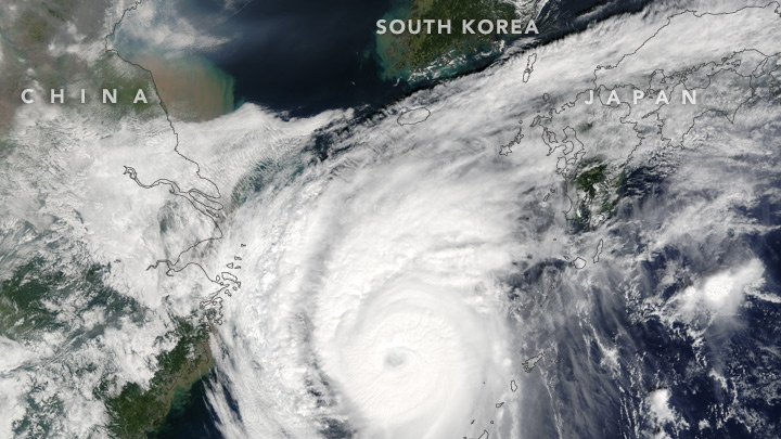 Taifunul Chaba face pagube în Japonia şi Coreea de Sud: Sute de locuinţe au fost distruse (FOTO)