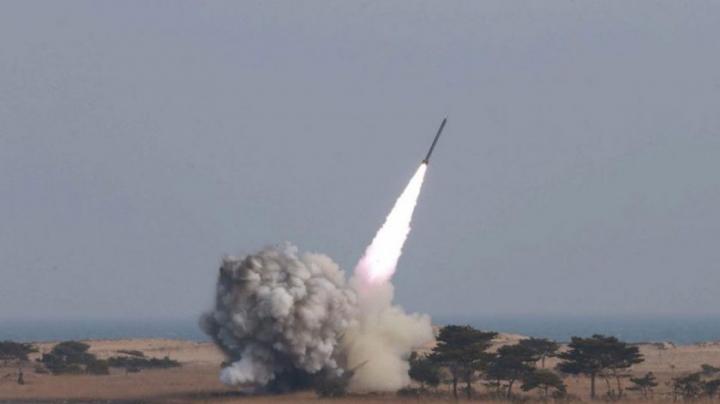 O rachetă balistică a fost lansată spre Mecca