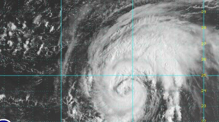 SPECTACULOS! Uraganul Matthew A FOST VĂZUT din spaţiu (VIDEO)