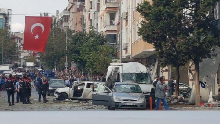Explozie lângă aeroportul Ataturk: Cel puţin zece persoane au fost rănite