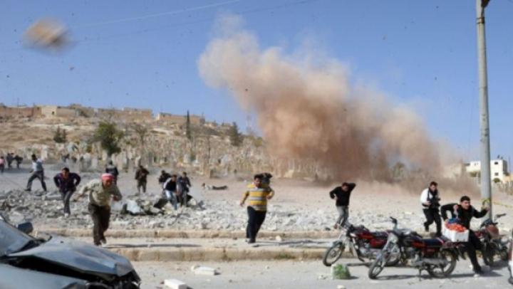 Siria: 17 morți în explozia unei mașini capcană la un post de control rebel