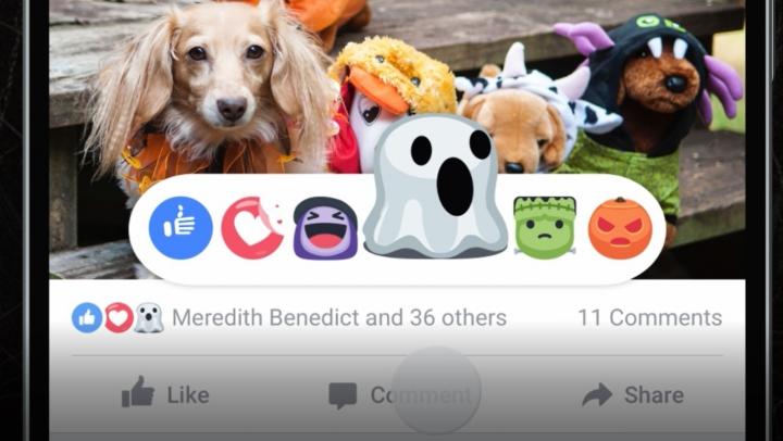 INEDIT! Opțiuni noi pentru Facebook de Halloween