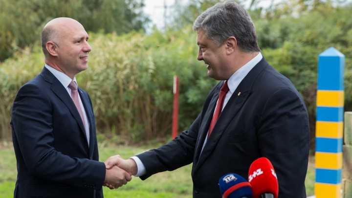 Pavel Filip s-a întâlnit cu preşedintele ucrainean Petro Poroşenko. Unde a avut loc întâlnirea oficialilor