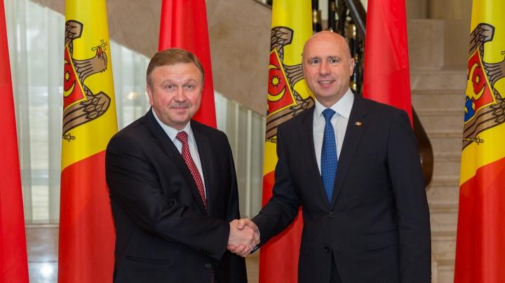 Pavel Filip: Belarus nu este doar un partener al Republicii Moldova, ci un prieten adevărat (FOTO)