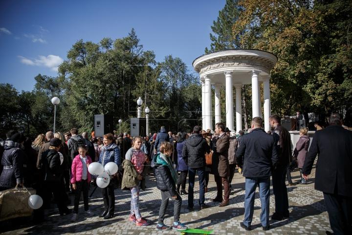 Scara Cascadelor, în sfârşit inaugurată! Cât de frumos este monumentul unic în Moldova (FOTOREPORT)