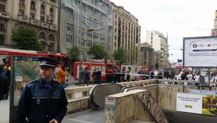 """ALERTĂ FALSĂ la Bucureşti! Două staţii de metrou au fost EVACUATE! Ce conţinea """"PACHETUL SUSPECT"""""""