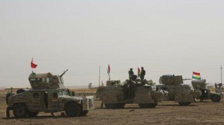 Forțele irakiene au eliberat 12 sate la sud de Mosul din mâinile organizației Stat Islamic