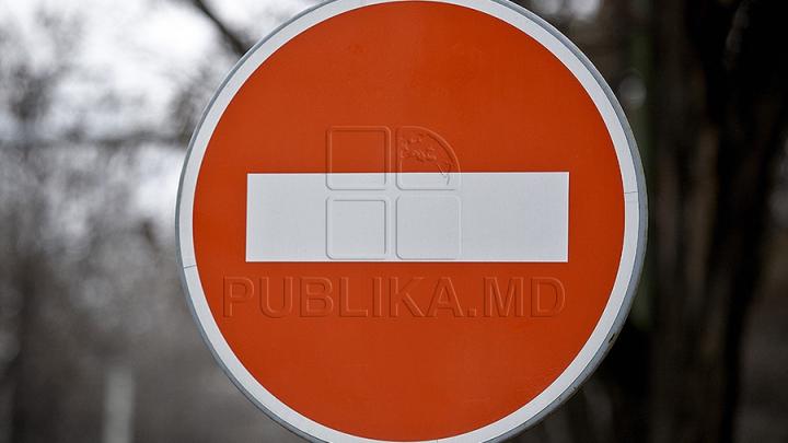 Atenţie! Trafic suspendat pe o stradă din centrul Capitalei. Care este motivul