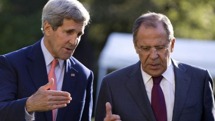 Kerry și Lavrov au discutat telefonic cooperarea în Siria