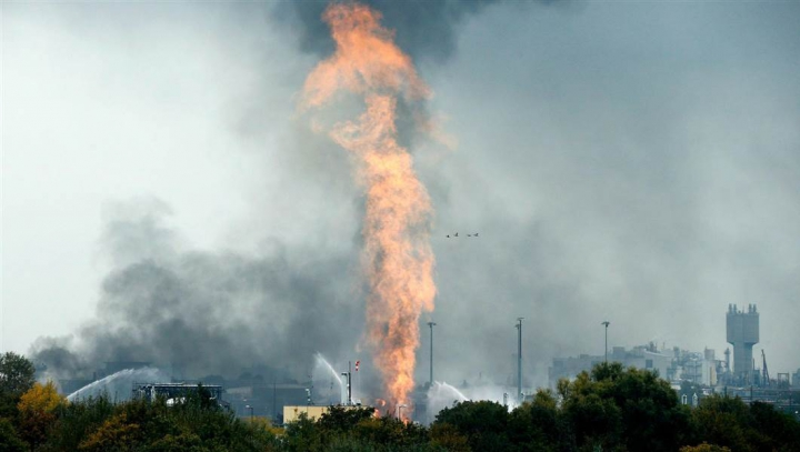 Explozia la uzina chimică din Germania: Bilanţul a urcat la 3 morţi
