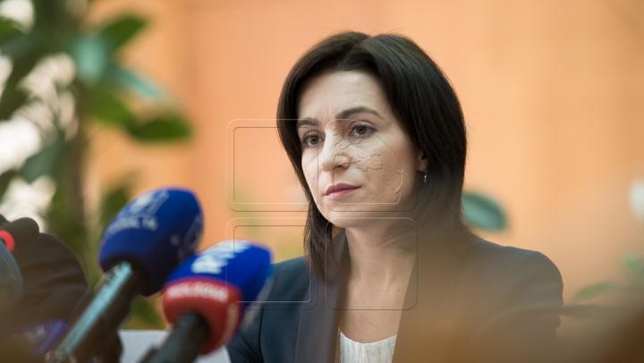 Maia Sandu: Am votat pentru un preşedinte onest, care va uni cetăţenii ţării