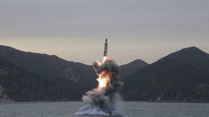 Coreea de Nord a efectuat un nou test cu o rachetă balistică