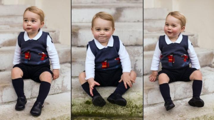 Motivul incredibil pentru care Prințul George apare doar în pantaloni scurți (FOTO)