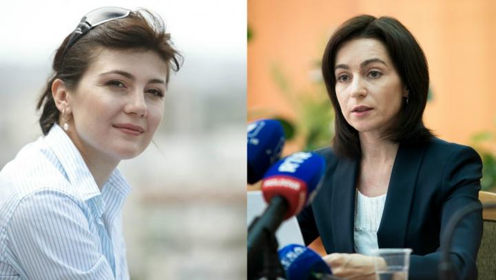 Maia Sandu ATACĂ candidaţii independenţi la preşedinţie. REPLICA Silviei Radu