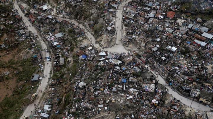 DEZASTRU în Haiti! Uraganul Matthew A UCIS 842 de persoane