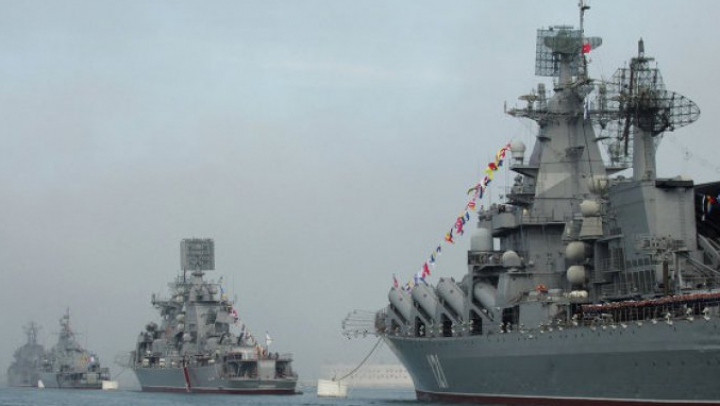 Secretarul general al NATO preocupat de înaintarea spre Marea Mediterană a unei flote navale rusești