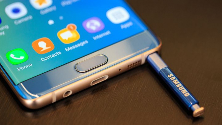 Un update oficial Samsung va limita bateria telefoanelor Note 7 din Europa