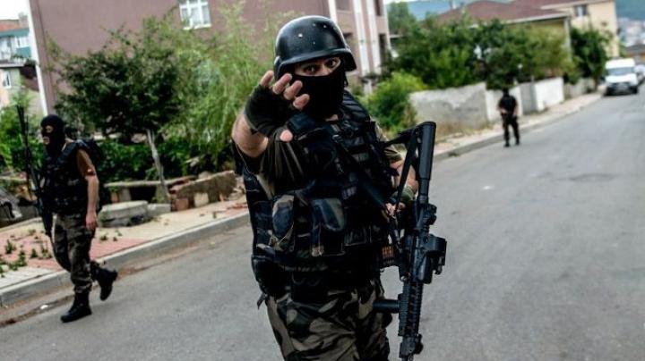 Poliția turcă a ucis un presupus militant al Statului Islamic: Pregătea un atac cu bombă
