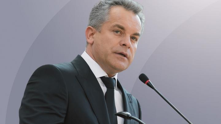 Preşedintele PDM, Vlad Plahotniuc: O soluție pentru problema transnistreană nu poate fi găsită de preşedintele Dodon