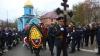 Pompierul decedat în incendiul de la Ciocana, petrecut cu onoruri militare: Era un lider, devotat meseriei
