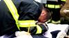 HOHOTE DE PLÂNS! Pompierul erou, petrecut pe ultimul drum în lacrimi (IMAGINI EMOŢIONANTE)