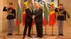 """Ultima vizită în Moldova. Preşedintele Bulgariei, decorat de şeful statului cu """"Ordinul Republicii"""""""