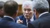 Voronin şi Ghimpu şi-au împărţit replici haioase în Parlament
