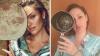 AMUZANT! O femeie a parodiat fotografii celebre ale vedetelor și a cucerit Internetul (FOTO)
