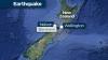 Principalele două insule din Noua Zeelandă s-au apropiat după seismul cu magnitudinea 7,8