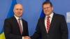 Pavel Filip s-a întâlnit cu Maros Sefcovic la Bruxelles. Despre cu au discutat oficialii