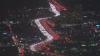 IMPRESIONANT! Sute de luminițe, aprinse de Ziua Recunoștinței în Los Angeles (VIDEO)