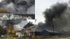 INFERN în New York! Un incendiu devastator a izbucnit într-o fostă oţelărie (VIDEO/FOTO)