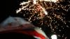 Petrecere cu focuri de artificii în Găgăuzia, după anunţarea rezultatelor preliminare