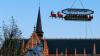Ofertă inedită la Bruxelles: Cină la înălțime în sania lui Moș Crăciun